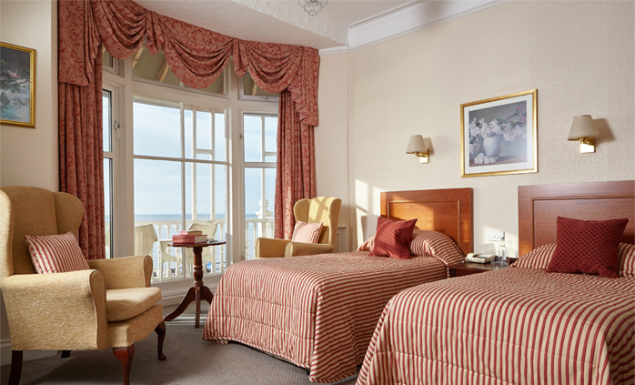 Deluxe Sea View Bedroom at The Royal York & Faulkner Hotel