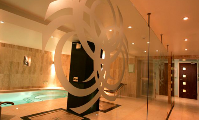 The Hydra-Spa also has a steam cabin and traditional sauna, Sidmouth