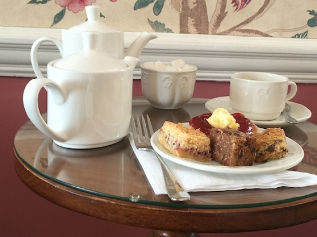 Complimentary Afternoon Tea for half-board guests, Sidmouth
